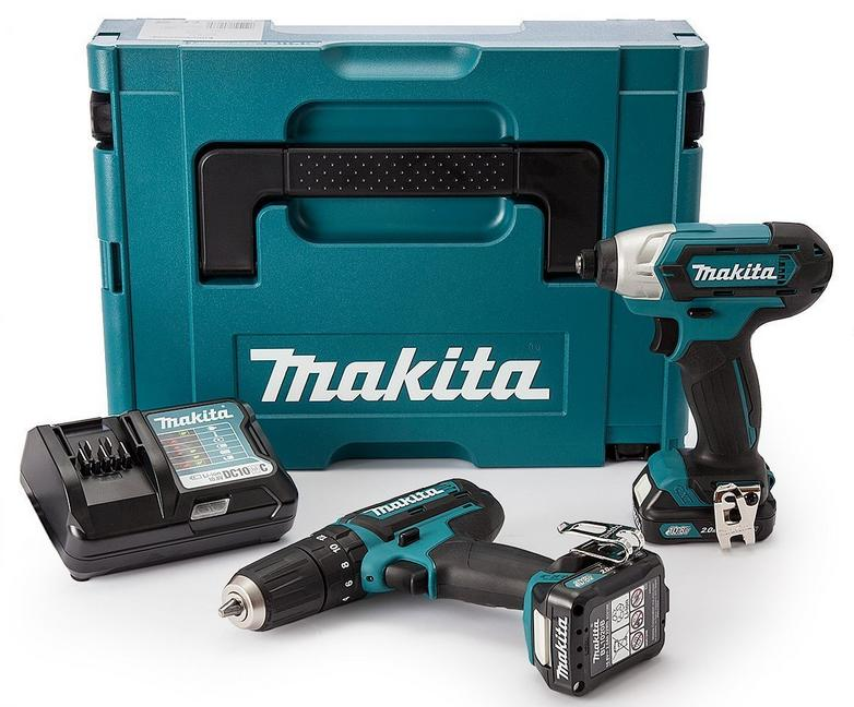 makita combi and impact driver twin pack lelliotts. Black Bedroom Furniture Sets. Home Design Ideas